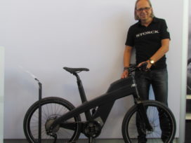 Rehau/Storck Continues Development Advanced Composite E-Bike Frame