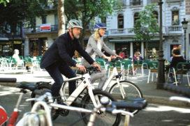 高速電動自行車專用安全帽:誰搶先發行?