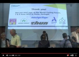 Bike Europe會議-供應鏈彈性的影像紀錄