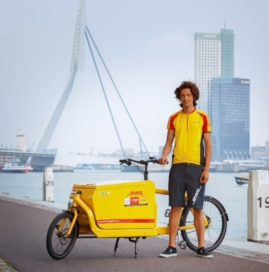 Danish Cargobike Company Partners with DHL