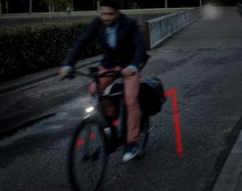 V-Light Increases Visibility of E-Bikes