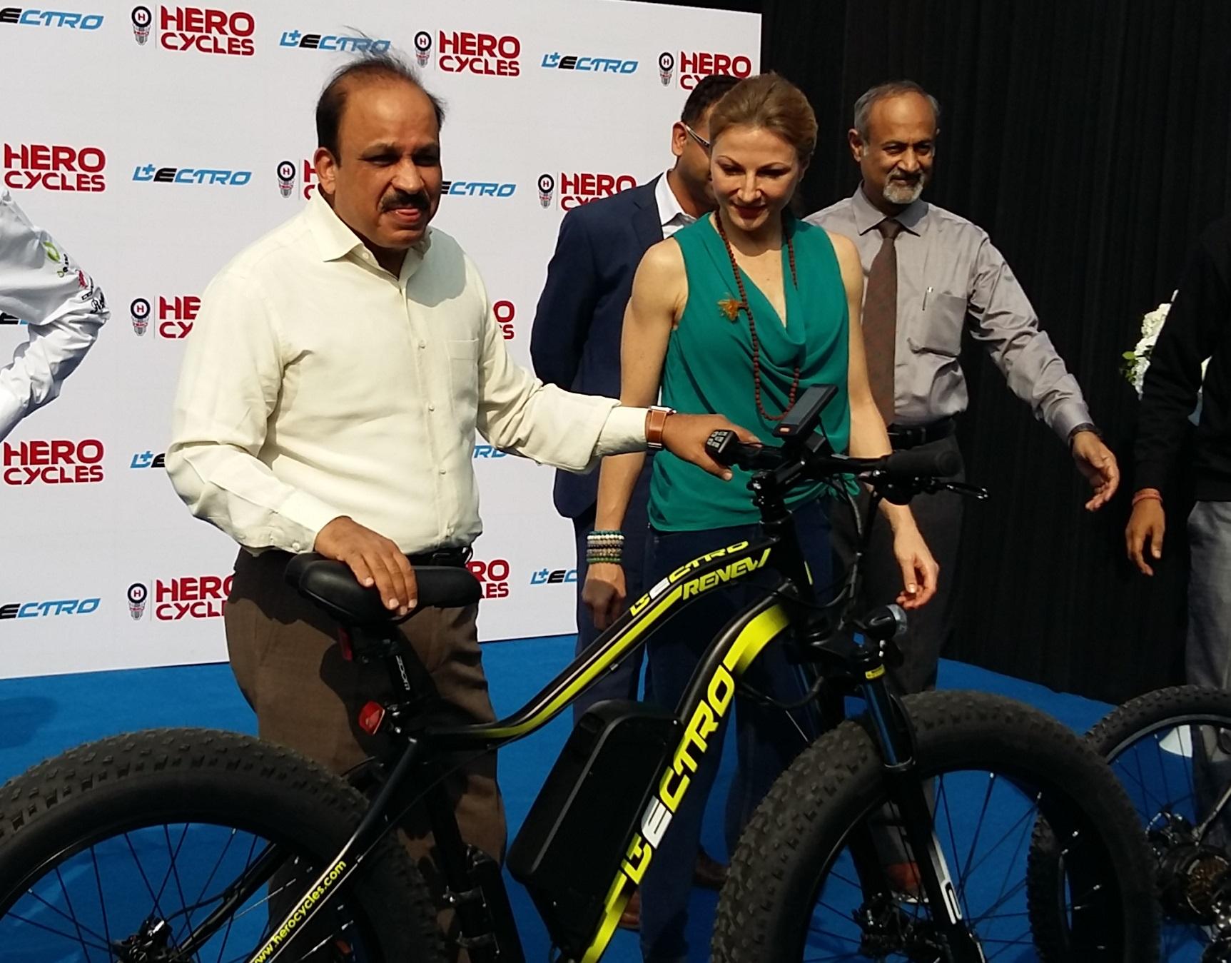 Hero Cycles Targets E-Bike Market - Bike Europe