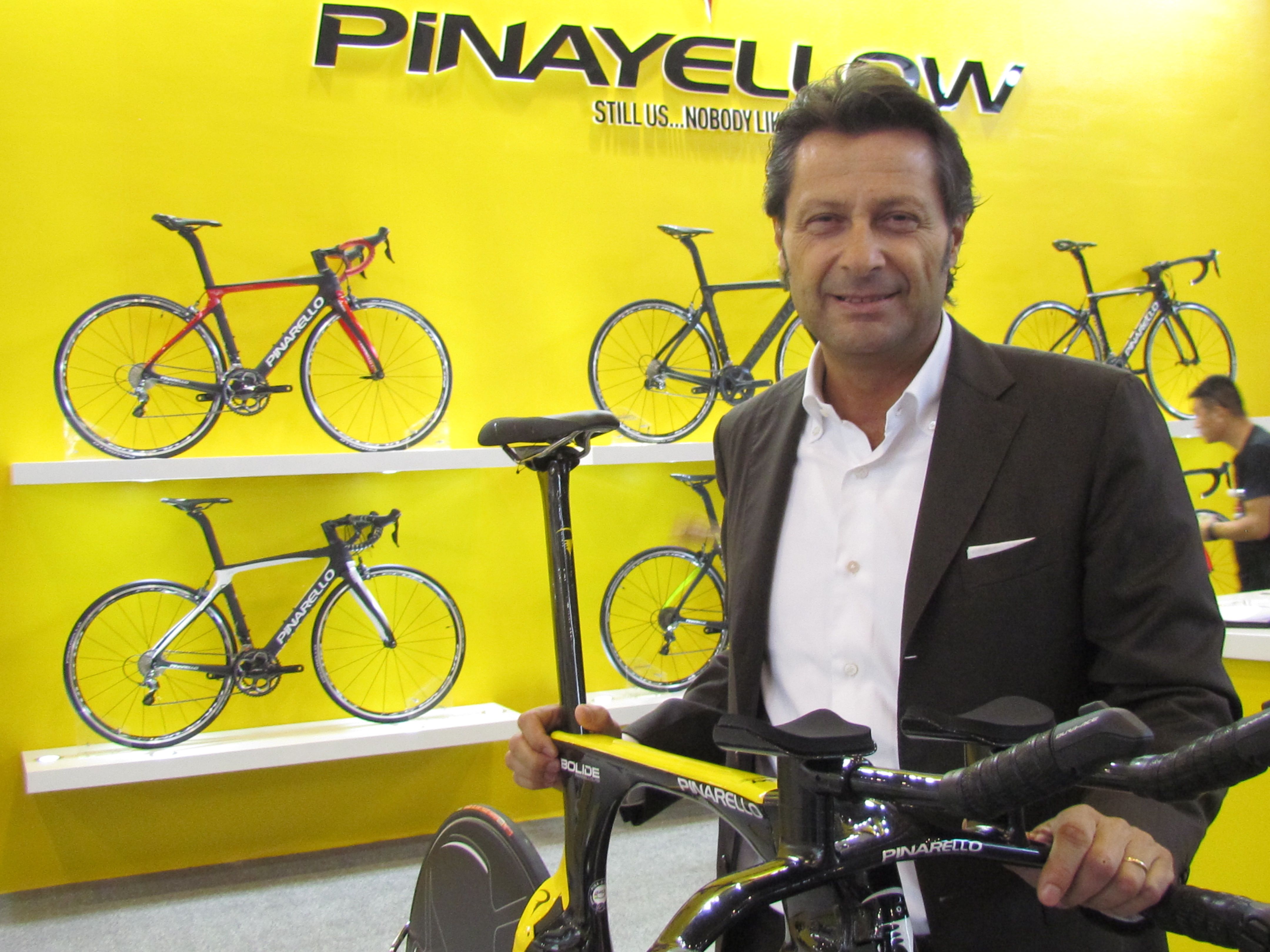 Takeover Associates Pinarello with Luxury Brands Like Dior