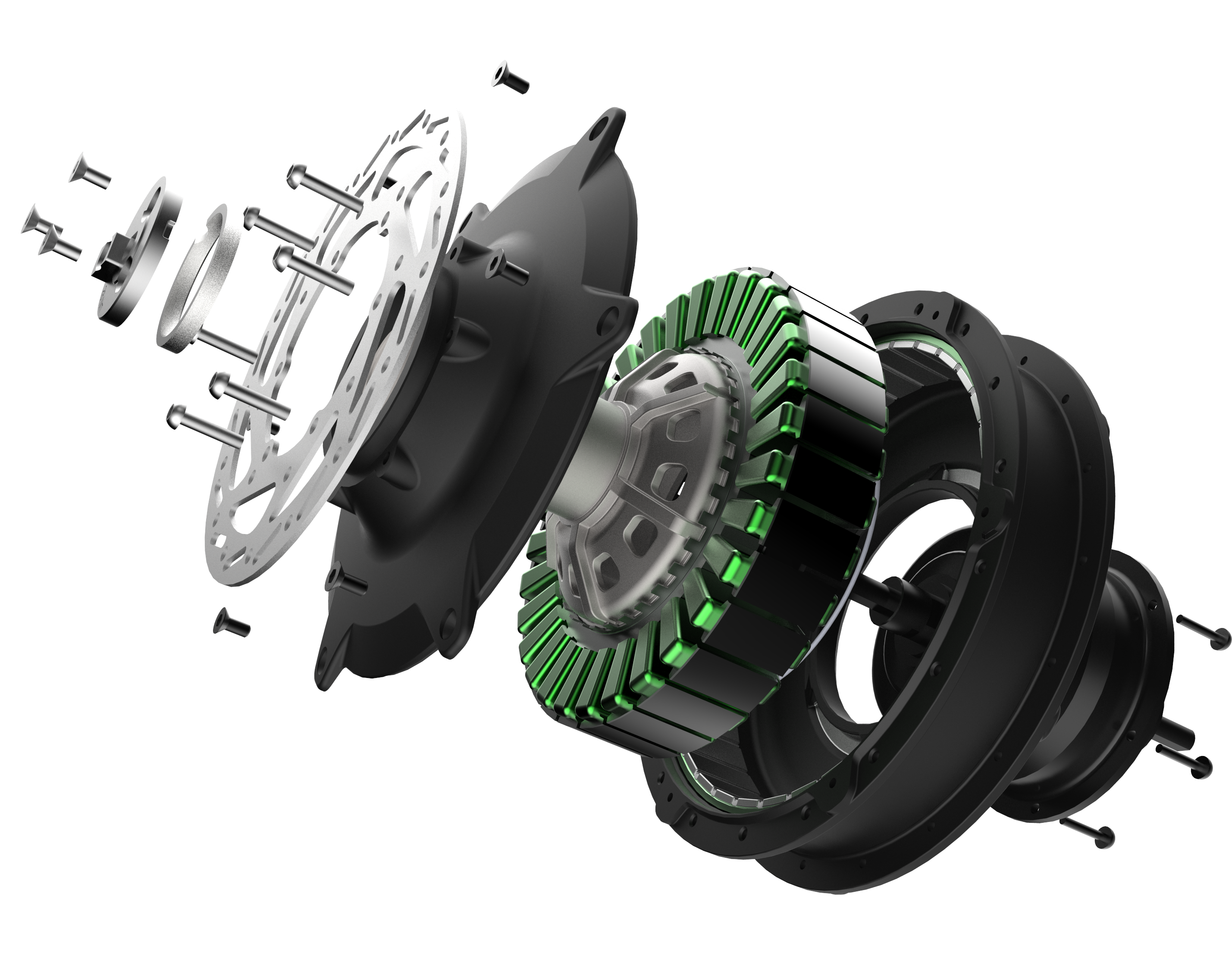 Accell Launches E Bike Motor With Integrated 5 Speed Gear