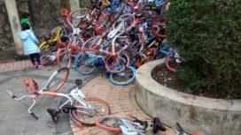 中國的自行車共享計畫造成零部件短缺
