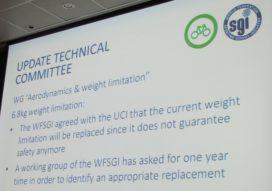 UCI 將會改變對專業公路賽車手的重量限制