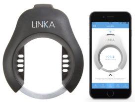 Smart Phone Operated Bike Lock Linka