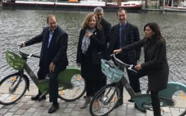 2nd Generation Vélib' Métropole Bicycles and E-Bikes Presented in Paris