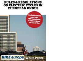 WhitePaper: Understanding Regulations Vital as E-Bike Sales Growth Continues