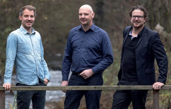 The leading trio behind HNF-Nicolai: Benjamin Börries, Kalle Nicolai und Michael Hecken (from left to right).