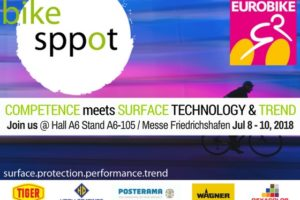 The bike sppot at Eurobike