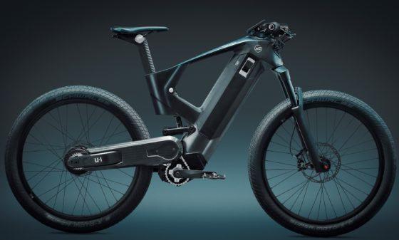 Mubea e-mobility's urban concept bike 'U-1'.