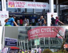 Eurobike及台北國際自行車展更新2019展期