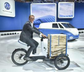 福斯汽車(Volkswagen)推出載貨電動自行車
