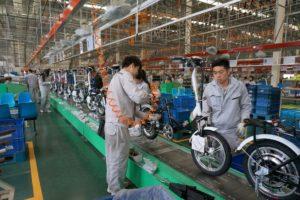 自中國進口的電動自行車數量成長不受反傾銷程序影響