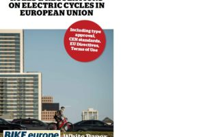 Bike Europe Whitepaper on All You Need To Know on E-Bike Regulations