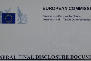 BREAKING NEWS: EU Publishes Final Disclosure Document on Outcome of China E-Bikes Dumping Case