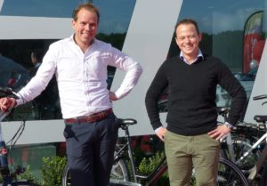 'We regard face-to-face communication essential for a successful business model,' state Stella owners Daan van Renselaar (left) and Wilco van de Kamp.