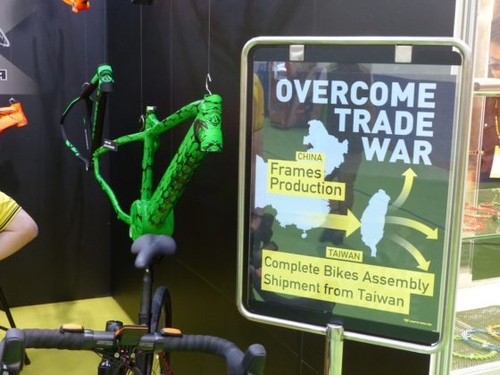 Trade war with high dumping duties is making e-bike exporters in China to search for creative 'solutions' to their problems.