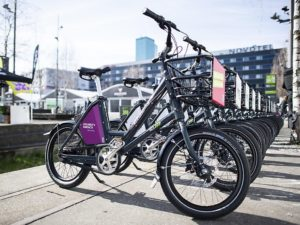 Swiss bike rental company Publibike is one the largest Go SwissDrive customers; its fleet contains 5,500 e-bikes. – Photo Publibike