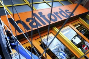 Halfords Q3 Results; Big Ticket Bike Sales Drop