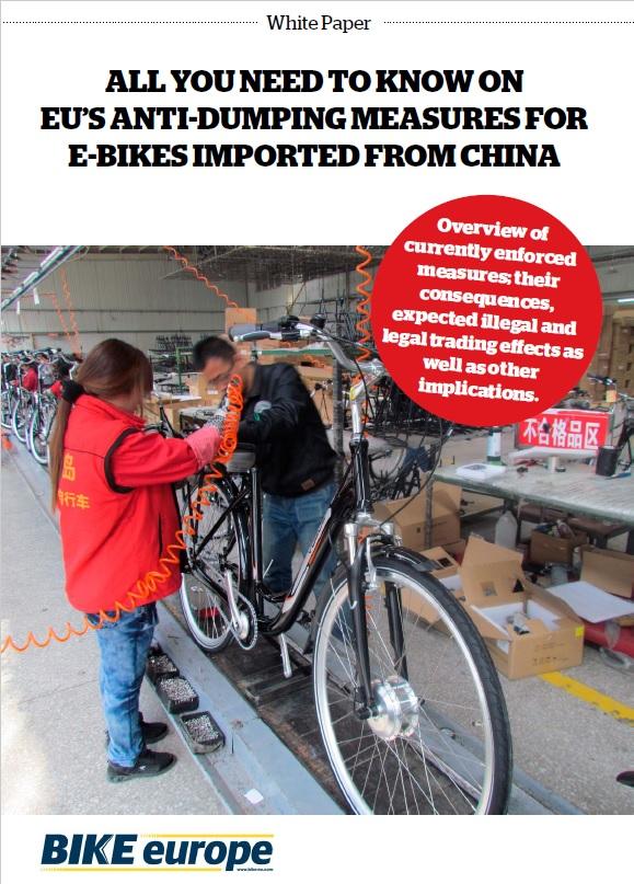 Consequences of the EU anti-dumping duties on China made e-bikes
