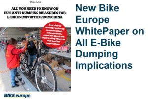 All You Need To Know on EU's Anti-Dumping Measures for E-Bikes Imported from China