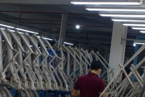 Astro Preparing for Robotized Frame Production in Vietnam