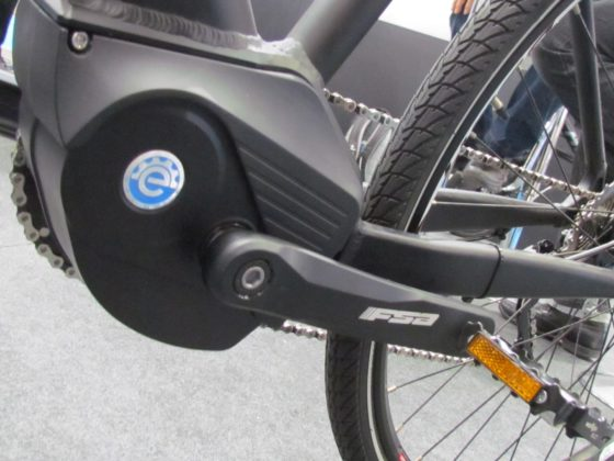 The new MPF 3 is targeting city e-bikes.