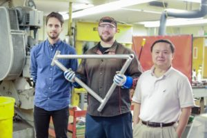 New Welding Technology Takes Hi-End Aluminum Frames To Next Level