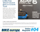 E-Bike Puts Taiwan's Export Back on Track