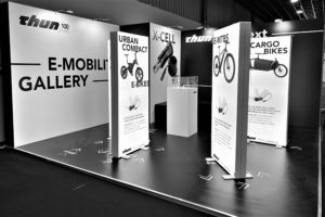 Thun's E-Mobility Gallery for X-CELL RT torque sensor stolen at Bike Motion Show!
