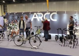 Commuting and Folding E-bikes Power Ahead at London Bike Show