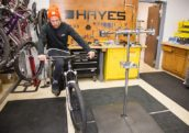 Hayes Completes Integration Reynolds Cycling