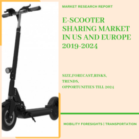 Study on Electric Scooter Sharing Market in US and Europe 2019-2024