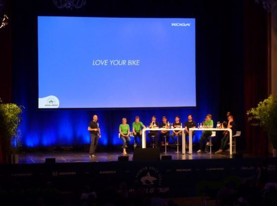 During the VIP event Haibike, Ghost, Winora, Koga, Lapierre each presented their brand philosophy. – Photo Bike Europe