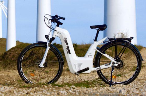 World's First Hydrogen Bike Gets Fifty Percent Range Boost