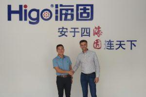 Higo擴大製造電動自行車連接器
