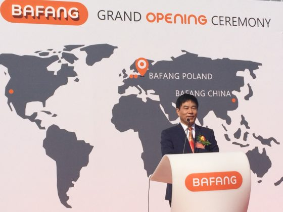 Bafang Opens Production Facility in Poland