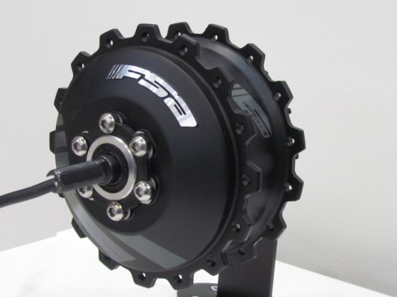 FSA (Tien Hsin Industries) launched its e-bike drive system which for now is a rear hub motor.