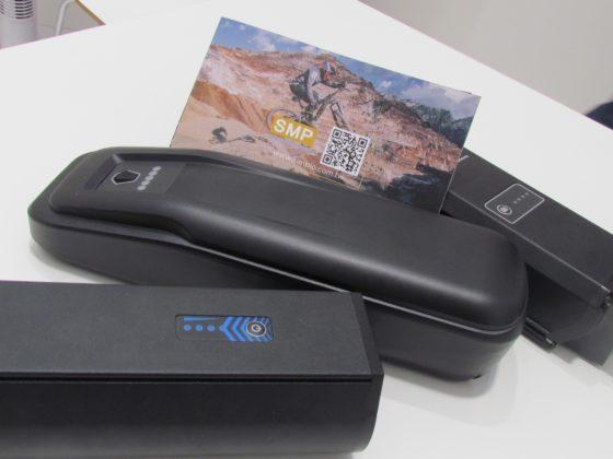(圖五)屬蘋果供應商Simplo Group旗下的SMP展出第二代電動自行車電池。