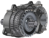 Scottish Intra Drive Integrates Mid-Motor and 8-Speed Gearbox